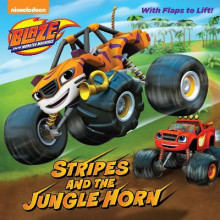 Stripes and the Jungle Horn (Blaze and the Monster Machines) av Frank Berrios (Heftet)
