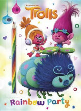 Omslag - Rainbow Party! (DreamWorks Trolls)