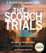 Omslag - The Scorch Trials (Maze Runner, Book Two)