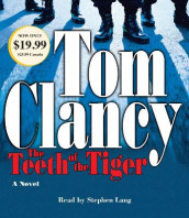 The Teeth of the Tiger av Tom Clancy (Lydbok-CD)