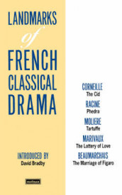 "Landmarks Of French Classical Drama: ""The Cid"", "" Phedra"", ""Tartuffe"", ""The Lottery of Love"", "" The Marriage of Figaro"" av Pierre Marivaux og Moliere (Heftet)"