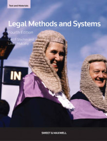Legal Methods and Systems av Carl F. Stychin og Linda Mulcahy (Heftet)