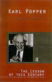 The Lesson of this Century av Karl Popper (Heftet)