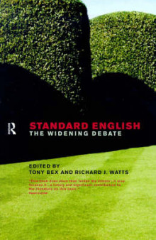 Standard English av Tony Bex og Richard J. Watts (Heftet)