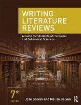 Omslag - Writing Literature Reviews
