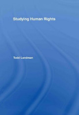 Omslag - Studying Human Rights
