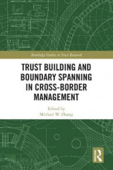 Omslag - Trust Building and Boundary Spanning in Cross-Border Management