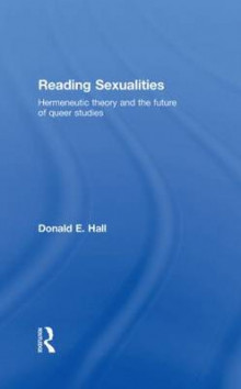 Reading Sexualities av Donald E. Hall (Innbundet)
