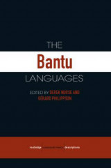 Omslag - The Bantu Languages