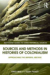 Omslag - Sources and Methods in Histories of Colonialism