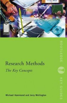Research Methods: The Key Concepts av Michael Hammond og Jerry Wellington (Heftet)