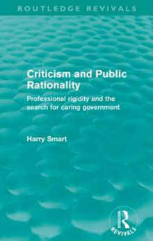 Criticism and Public Rationality av Harry W. Smart (Heftet)