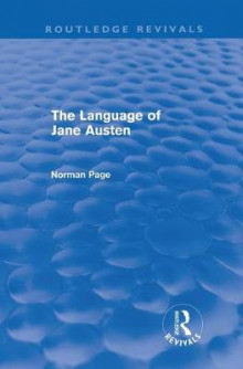 The Language of Jane Austen av Professor Norman Page (Innbundet)