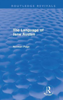 The Language of Jane Austen av Professor Norman Page (Heftet)