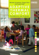 Omslag - Adaptive Thermal Comfort: Foundations and Analysis