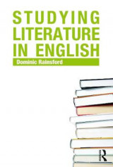 Omslag - Studying Literature in English