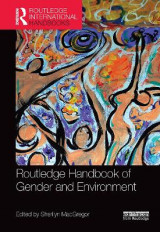 Omslag - Routledge Handbook of Gender and Environment
