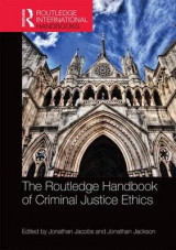 Omslag - The Routledge Handbook of Criminal Justice Ethics