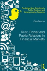 Omslag - Trust, Power and Public Relations in Financial Markets