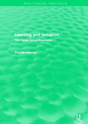 Learning and Inclusion av Priscilla Alderson (Innbundet)