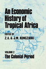 Omslag - An Economic History of Tropical Africa