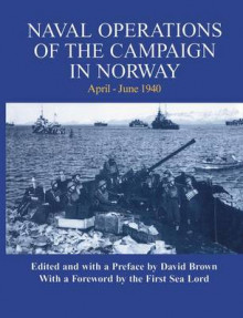 Naval Operations of the Campaign in Norway, April-June 1940 av David Brown (Heftet)