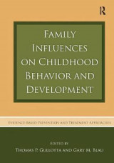 Omslag - Family Influences on Childhood Behavior and Development