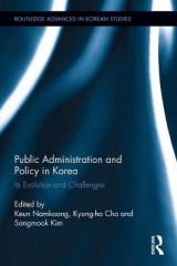 Omslag - Public Administration and Policy in Korea