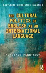 Omslag - The Cultural Politics of English as an International Language