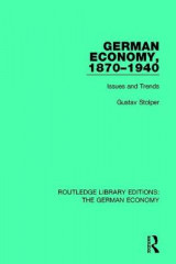 Omslag - German Economy, 1870-1940