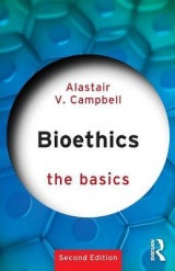 Omslag - Bioethics: The Basics