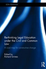 Omslag - Re-Thinking Legal Education Under the Civil and Common Law
