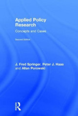 Omslag - Applied Policy Research