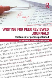 Writing for Peer Reviewed Journals av Barbara Kamler og Pat Thomson (Heftet)