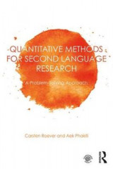 Omslag - Quantitative Methods for Second Language Research