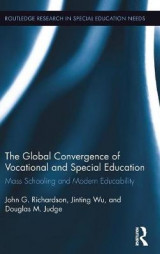 Omslag - Global Convergence of Vocational and Special Education