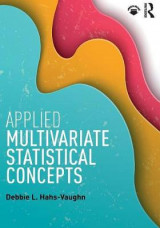 Omslag - Applied Multivariate Statistical Concepts