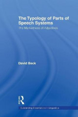 Omslag - The Typology of Parts of Speech Systems