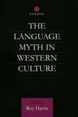 Omslag - The Language Myth in Western Culture