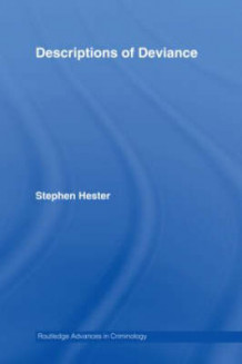 Descriptions of Deviance av Stephen Hester (Innbundet)