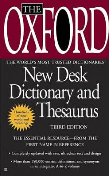 The Oxford New Desk Dictionary and Thesaurus av Oxford University Press (Heftet)