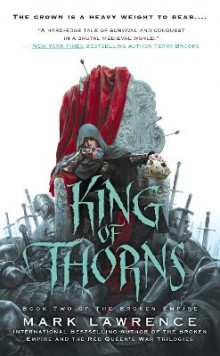 King of thorns av Mark Lawrence (Heftet)