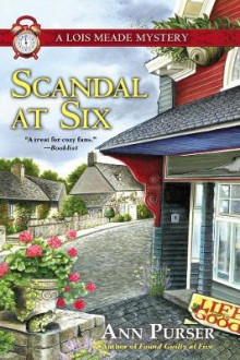 Scandal at Six av Ann Purser (Innbundet)
