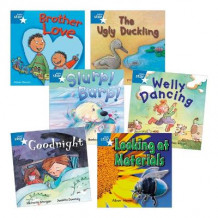Learn at Home:Star Reading Blue Level Pack (5 Fiction and 1 Non-fiction Book) av Jane Langford og Barbara Vagnozzi (Heftet)
