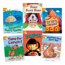 Learn at Home:Star Reading Orange Level Pack (5 fiction and 1 non-fiction book) av Martin Waddell, Shoo Rayner, Damian Harvey, Hiawyn Oram, Paul Shipton og Anne Adeney (Heftet)
