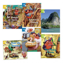 Learn at Home:Pirate Cove Year 1 Pack (6 fiction books) av Lisa Thompson (Heftet)