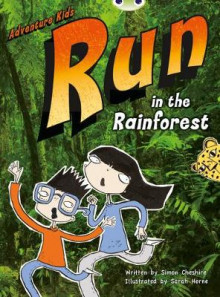 BC Turquoise A/1A Adventure Kids: Run in the Rainforest: Turquoise A/1a av Simon Cheshire (Blandet mediaprodukt)