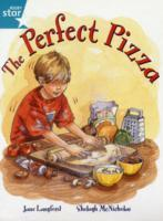 Rigby Star Guided 2, Turquoise Level: The Perfect Pizza Pupil Book (single) av Jane Langford (Heftet)
