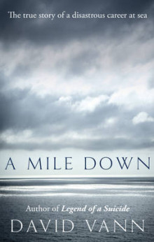 A Mile Down av David Vann (Innbundet)