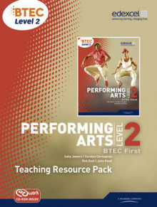 BTEC Level 2 First Performing Arts Teacher Resource Pack with CD-ROM av Sally Jewers (Blandet mediaprodukt)